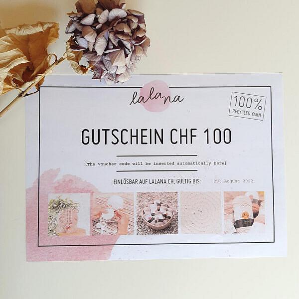Lalana Gutschein CHF 100