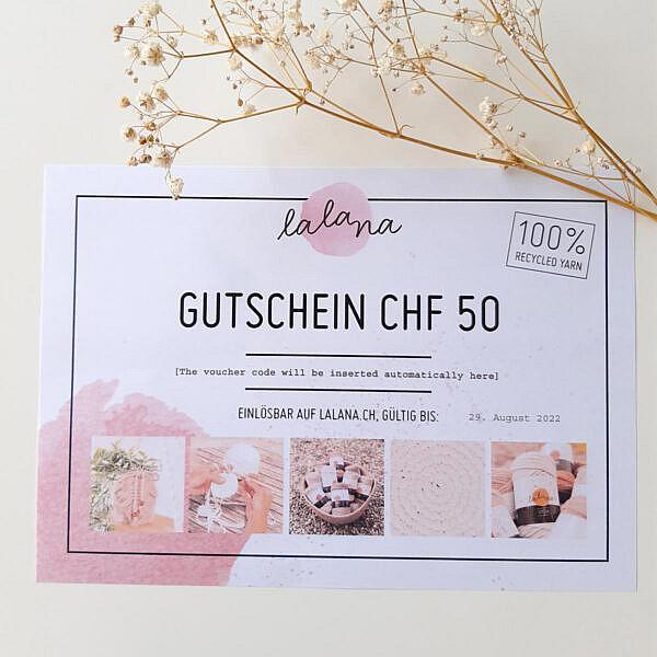 Lalana Gutschein CHF 50