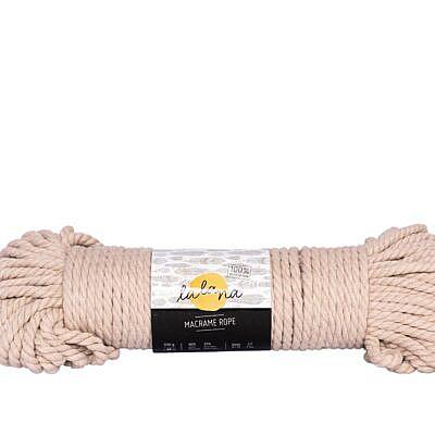 Lalana Macrame rope beige 5mm