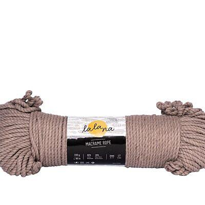 Lalana Macrame rope coffee 3mm
