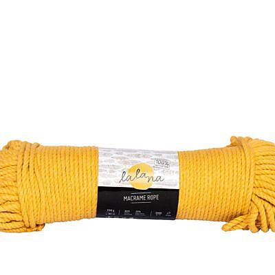Lalana Macrame rope mustard 3mm