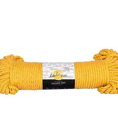 Lalana Macrame rope mustard 5mm